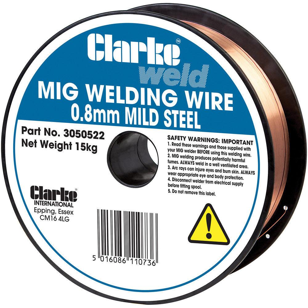Clarke Mild Steel Welding Wire 0.6mm 5kg - Machine Mart - Machine Mart