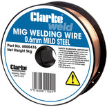 Clarke Mild Steel Welding Wire 0.6mm 5kg