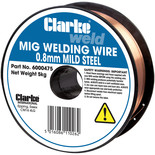 Clarke Mild Steel Welding Wire 0.8mm 5kg