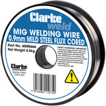 Clarke Flux Cored Welding Wire 0.9mm 4.5kg