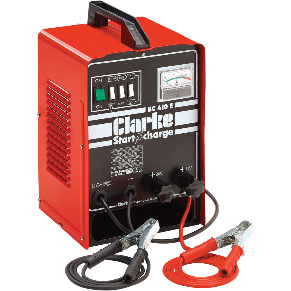 Car Battery Chargers Engine Starters Machine Mart Chager Baterai Bm 038 Clarke Bc410e Charger Starter