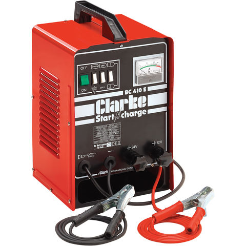 Image of Clarke Clarke BC410E Battery Charger & Engine Starter