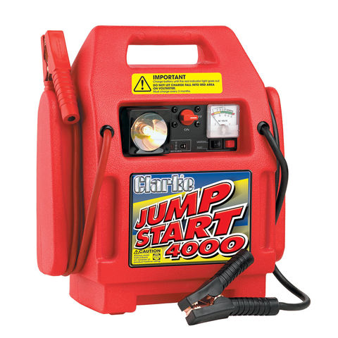 jump start battery clarke heavy duty jumpstart 174 4000 machine mart machine 11108