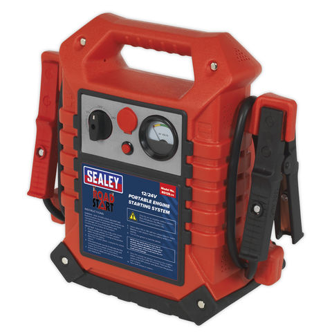 Image of Sealey Sealey RS125 12V/24V RoadStart® Emergency Jump Starter 3000/1500A