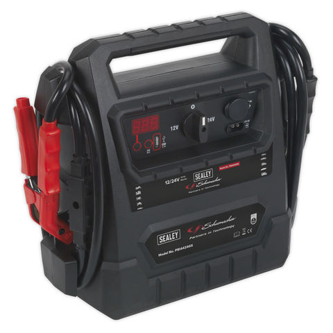 Image of Sealey Sealey PBI4424GS 12V/ 24V RoadStart® Emergency Jump Starter DEKRA Approved