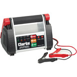 Clarke HFBC12 12V, 6Amp, High Frequency Battery Charger