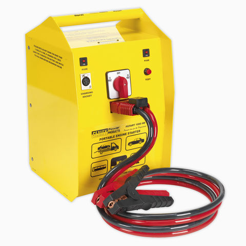 Image of Sealey Sealey PowerStart1000 Emergency Heavy-Duty Jump Starter 1000hp Start 12/24V