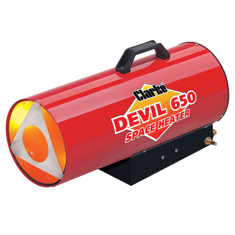 clarke devil 650 propane fired space heater - Propane Space Heater