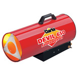 Clarke Devil 650 Propane Fired Space Heater