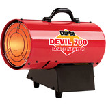 Clarke Devil 700 Propane Fired Space Heater