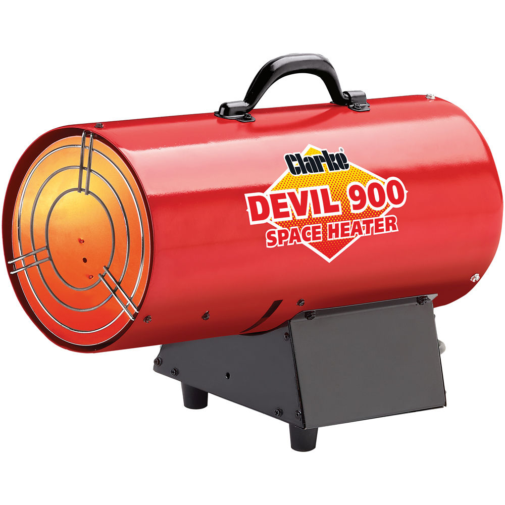 clarke devil 900 propane fired space heater - Propane Space Heater