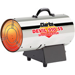 Clarke Devil 910SS Stainless Steel Gas Heater
