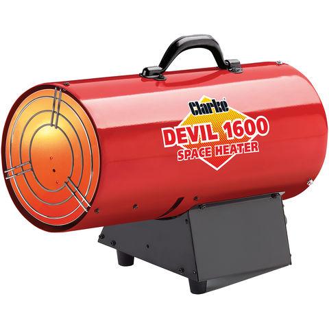 Image of Clarke Clarke Devil 1600 Propane Fired Space Heater