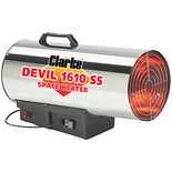Clarke Devil 1610SS Propane Fired Space Heater