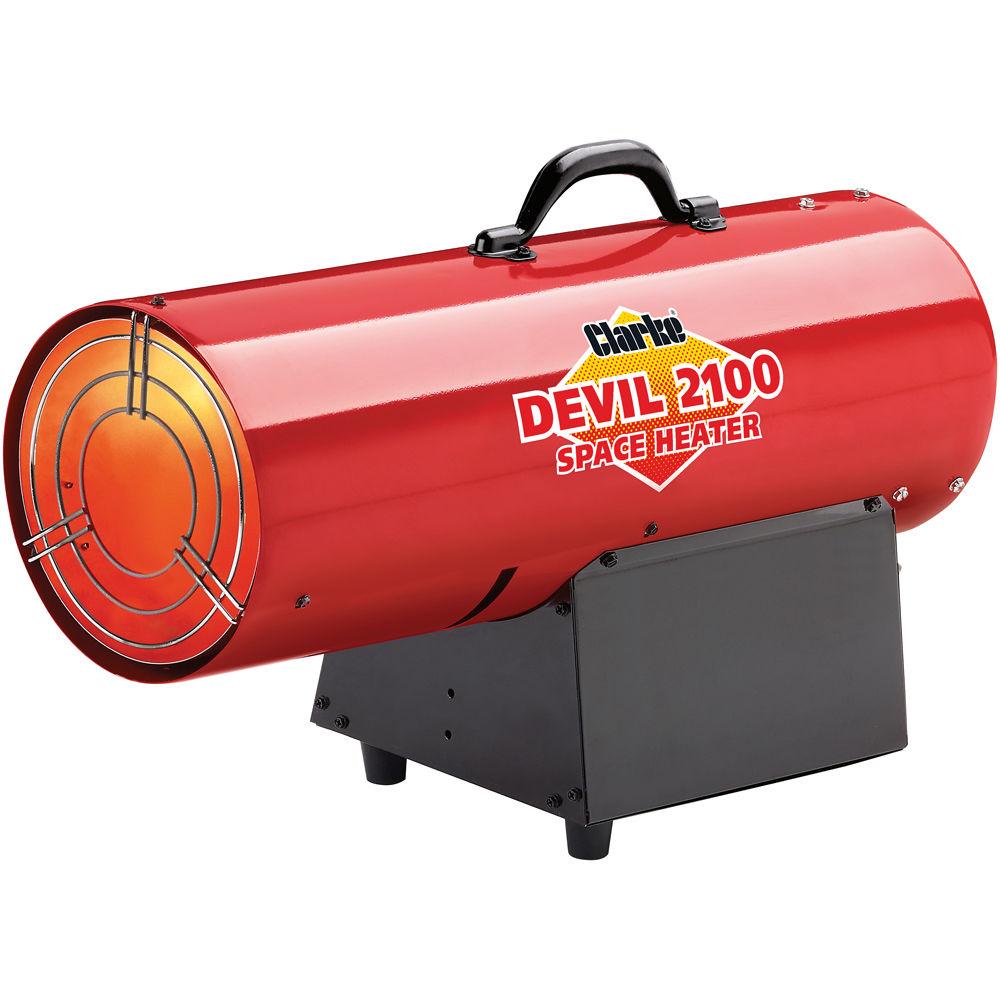 clarke devil propane fired space heater - Propane Space Heater