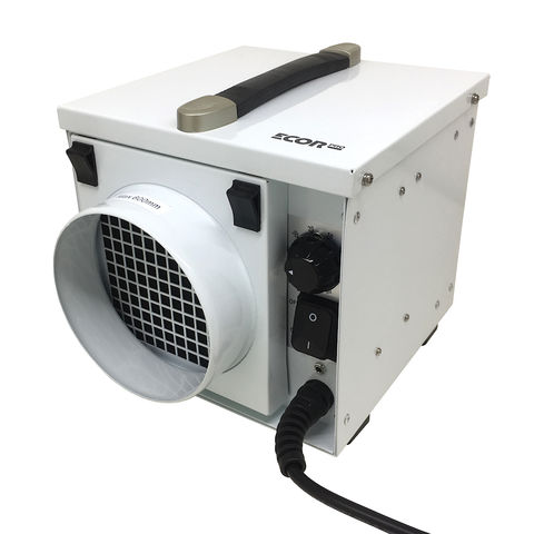 Image of Ecor Pro Ecor Pro DryFan 8 DH800 8 Litre 350W Desiccant Dehumidifier (230V)