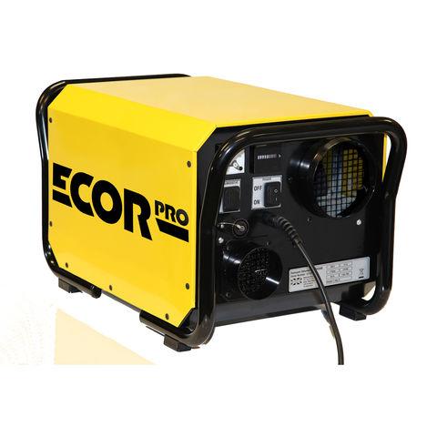 Image of Ecor Pro Ecor Pro DH3500-Y/BK 46L 1500W Desiccant Building Dryer Dehumidifier (230V)