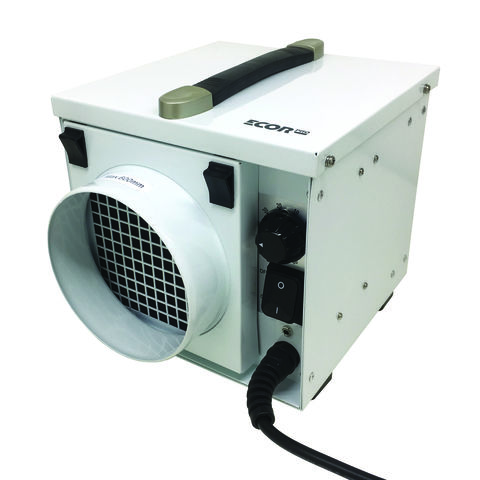 Image of Ecor Pro Ecor Pro DryFan 8 DH811 8 Litre 350W Desiccant Dehumidifier (110V)