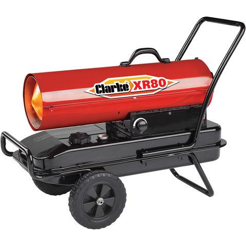 Image of Clarke Clarke XR80 20.5kW Paraffin/Diesel Industrial Space Heater