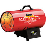 Clarke DEVIL900DV Dual Voltage 110/230V Gas Heater