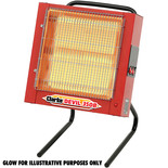 Clarke Devil 350B 2.4kW Ceramic Heater (230V)