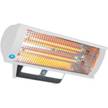 Prem-I-Air EH1462 2.3kW Wall Mounted Patio Heater with Remote Control (230V)
