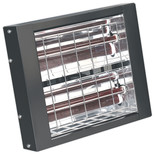 Sealey Infrared Quartz Heater - Wall Mounting 3000W/230V