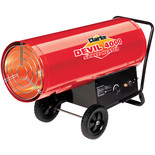 Clarke Devil 4000 400,000 BTU Propane Gas Fired Space Heater