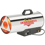 Clarke Devil 660 SS Stainless Steel Gas Heater