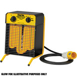 Clarke Devil 3003 2.8kW Electric Fan Heater (110V)