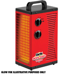 Clarke Devil 4003 2.8kW Workshop PTC Fan Heater (230V)