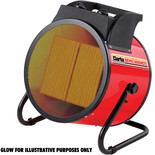 Clarke Devil 9000PTC Fan Heater (400V)