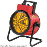 Clarke Devil 7005 5kW Industrial Electric Fan Heater (400V)