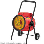 Clarke Devil 7015 15kW Industrial  Electric Fan Heater (400V)