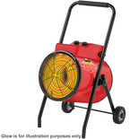 Clarke Devil 7025 22kW Industrial  Electric Fan Heater (400V)