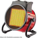 Clarke Devil 2000PTC 2kW Ceramic Fan Heater (230V)