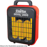 Clarke Devil 2800 2.8kW Fan Heater (230V)