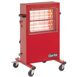 Clarke Devil 370PB Quartz Halogen Infra-red Heater (230V)