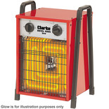 Clarke Devil 6005 5kW Industrial Electric Fan Heater