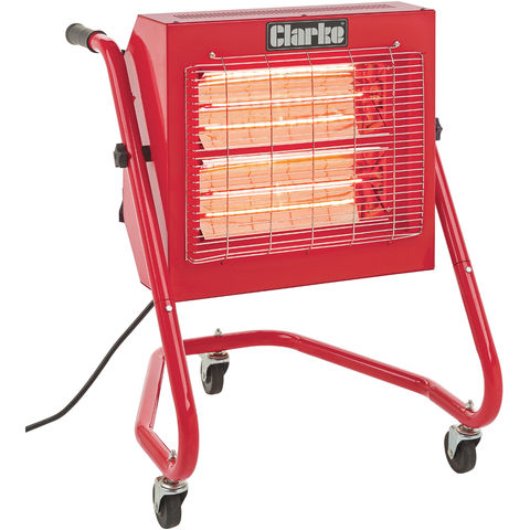 Image of Clarke Clarke Devil 370SPB Quartz Halogen Infra-red Heater (230V)