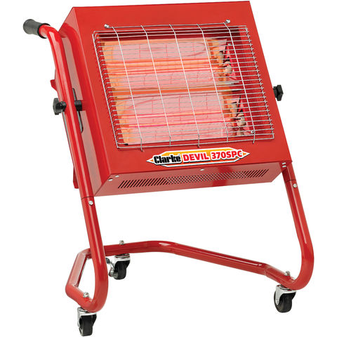 Image of Clarke Clarke 370SPC 2.8kW Swivel Head Infa-Red Heater (230V)