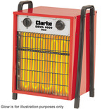 Clarke Devil 6009 9kW Industrial Electric Fan Heater (400V)