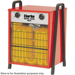 Clarke Devil 6015 15kW Industrial Electric Fan Heater (400V)