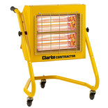 Clarke Devil 371SPB Quartz Halogen Infra-red Heater (110V)