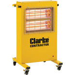 Clarke Contractor Devil 371PC Quartz Halogen Infrared Heater (110V)