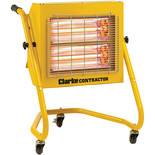 Clarke Contractor Devil 371SPC 2.8kW Remote Controlled Quartz Halogen Infrared Heater (110V)