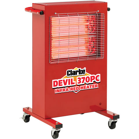 Image of Clarke Clarke 370PC 2.8kW Head Infra-Red Heater (230V)