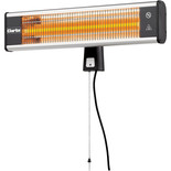 Clarke CFI1800 1800W Carbon Fibre Infrared Wall Heater