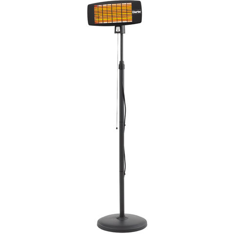 Image of New Clarke IQ2000S 2kW Infrared Quartz Heater With Floor Stand