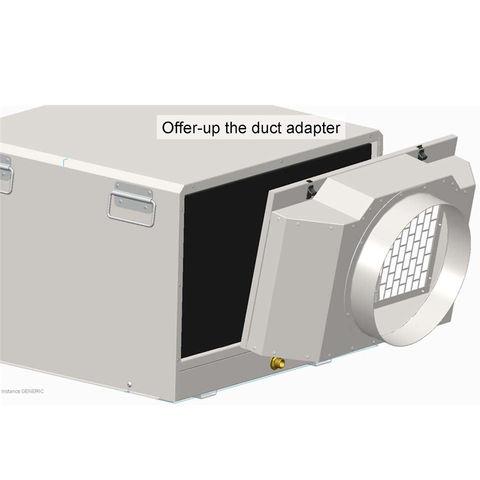 Image of Ecor Pro Ecor Pro DSR12/20 Duct Adapter